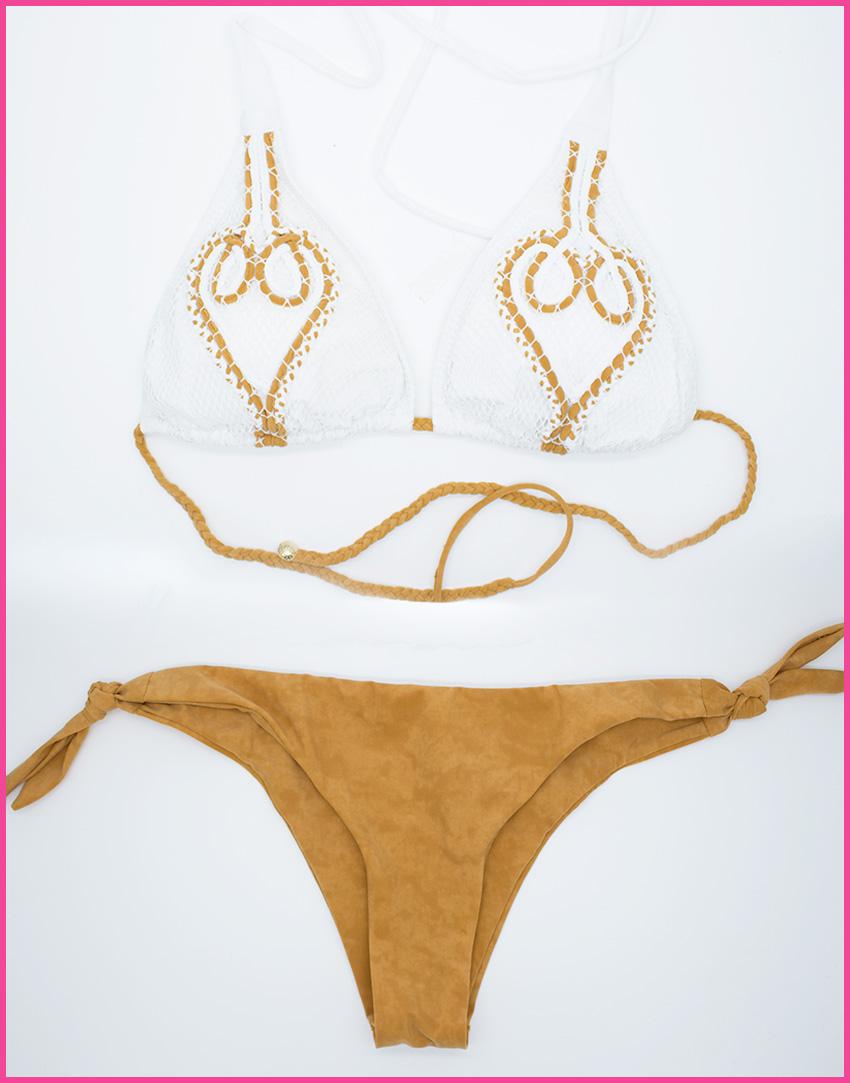Bikini Triangolo Heart - Costume da bagno fatto a mano Les Caprices