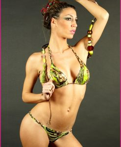 Bikini Triangolo Jungle - Costume da bagno fatto a mano Les Caprices