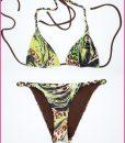 Bikini Triangolo Jungle – Costume da bagno fatto a mano Les Caprices